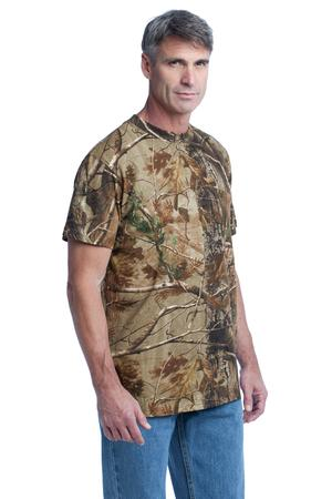 Russell Outdoors - Realtree Explorer 100% Cotton T-Shirt with Pocket Style S021R