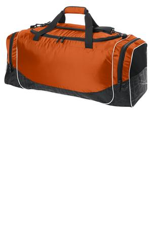 Sport-Tek BST502 Large Rival Duffel Deep Orange