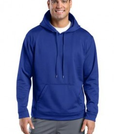 Sport-Tek F244 Sport-Wick Fleece Hooded Pullover True Royal