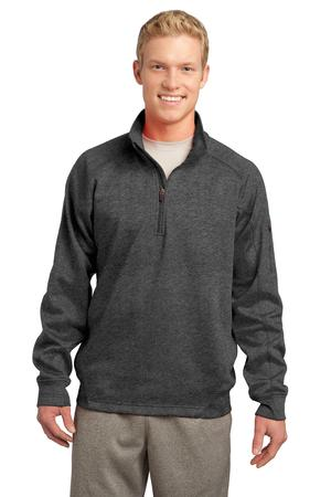 Sport-Tek F247 Tech Fleece 1/4-Zip Pullover Graphite Heather