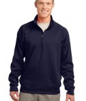 Sport-Tek F247 Tech Fleece 1/4-Zip Pullover True Navy
