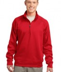 Sport-Tek F247 Tech Fleece 1/4-Zip Pullover True Red