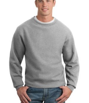 Sport-Tek F280 Super Heavyweight Crewneck Sweatshirt Athletic Heather