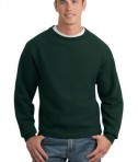 Sport-Tek F280 Super Heavyweight Crewneck Sweatshirt Dark Green