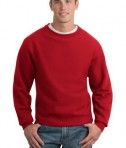 Sport-Tek F280 Super Heavyweight Crewneck Sweatshirt Red