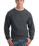 Sport-Tek F280 Super Heavyweight Crewneck Sweatshirt Graphite Heather