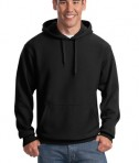 Sport-Tek F281 Heavyweight Pullover Hooded Sweatshirt Black