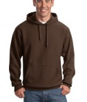 Sport-Tek F281 Heavyweight Pullover Hooded Sweatshirt Brown