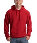 Sport-Tek F281 Heavyweight Pullover Hooded Sweatshirt Red