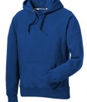 Sport-Tek F281 Heavyweight Pullover Hooded Sweatshirt Royal Flat Front