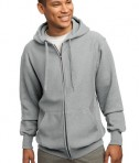 Sport-Tek F282 Super Heavyweight Full-Zip Hooded Sweatshirt Athletic Heather