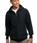 Sport-Tek F282 Super Heavyweight Full-Zip Hooded Sweatshirt Black