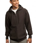 Sport-Tek F282 Super Heavyweight Full-Zip Hooded Sweatshirt Brown