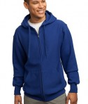 Sport-Tek F282 Super Heavyweight Full-Zip Hooded Sweatshirt Royal