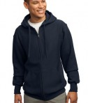 Sport-Tek F282 Super Heavyweight Full-Zip Hooded Sweatshirt True Navy