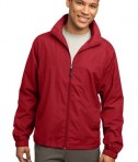 Sport-Tek JST70 Full-Zip Wind Jacket True Red