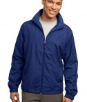 Sport-Tek JST70 Full-Zip Wind Jacket True Royal