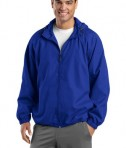 Sport-Tek JST73 Hooded Raglan Jacket True Royal