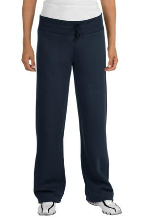Sport-Tek L257 Ladies Fleece Pant True Navy