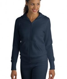 Sport-Tek L265 Ladies Full-Zip Hooded Fleece Jacket True Navy
