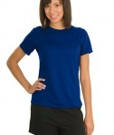 Sport-Tek L473 Ladies Dry Zone Raglan Accent T-Shirt True Royal