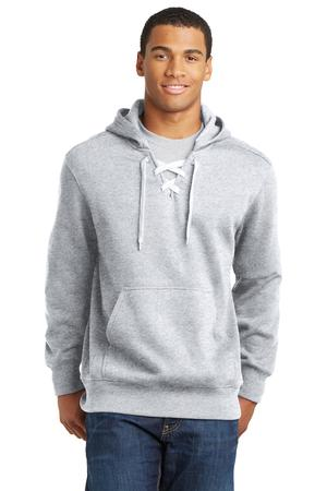 Sport-Tek Lace Up Pullover Hooded Sweatshirt Style ST271 1