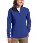 Sport-Tek LST253 Ladies 1/4-Zip Sweatshirt True Royal