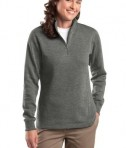 Sport-Tek LST253 Ladies 1/4-Zip Sweatshirt Vintage Heather