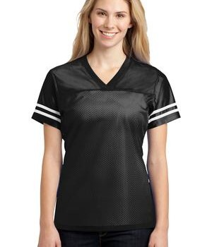 Sport-Tek LST307 Ladies PosiCharge Replica Jersey Black