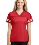 Sport-Tek LST307 Ladies PosiCharge Replica Jersey True Red