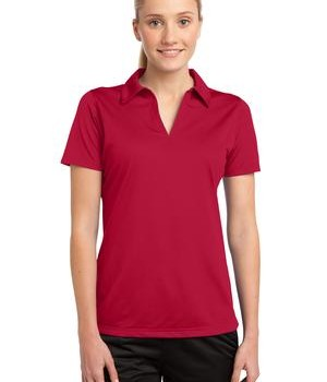 Sport-Tek LST690 Ladies PosiCharge Active Textured Polo True Red