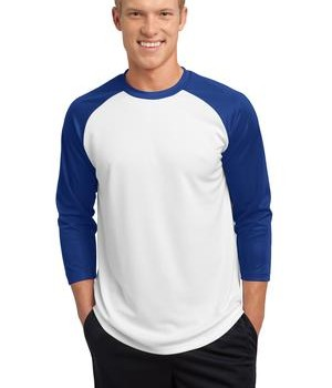 Sport-Tek ST205 PosiCharge Baseball Jersey White/True Royal