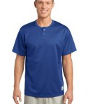 Sport-Tek ST215 PosiCharge Tough Mesh Henley True Royal