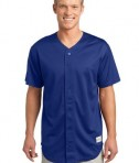 Sport-Tek ST220 PosiCharge Tough Mesh Full-Button Jersey True Royal
