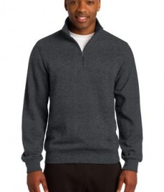 Sport-Tek TST253 Tall 1/4-Zip Sweatshirt Graphite Heather