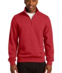 Sport-Tek TST253 Tall 1/4-Zip Sweatshirt True Red