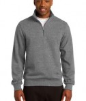 Sport-Tek TST253 Tall 1/4-Zip Sweatshirt Vintage Heather