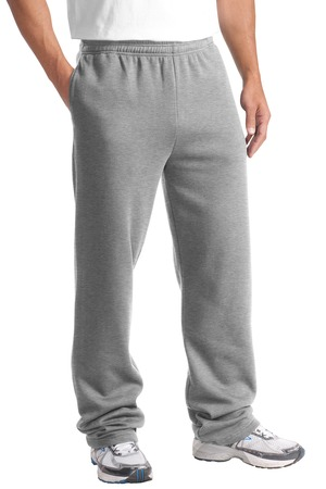 Sport-Tek ST257 Open Bottom Sweatpant Athletic Heather