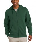 Sport-Tek ST258 Full-Zip Hooded Sweatshirt Forest Green