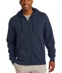 Sport-Tek ST258 Full-Zip Hooded Sweatshirt True Navy