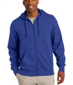Sport-Tek ST258 Full-Zip Hooded Sweatshirt True Royal