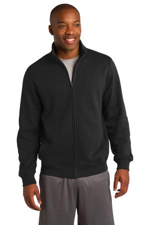 Sport-Tek ST259 Full-Zip Sweatshirt Black