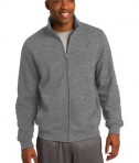 Sport-Tek ST259 Full-Zip Sweatshirt Vintage Heather