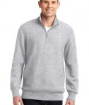Sport-Tek ST283 Super Heavyweight 1/4-Zip Pullover Sweatshirt Athletic Heather