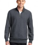 Sport-Tek ST283 Super Heavyweight 1/4-Zip Pullover Sweatshirt Graphite Heather