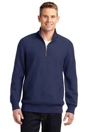 Sport-Tek ST283 Super Heavyweight 1/4-Zip Pullover Sweatshirt True Navy