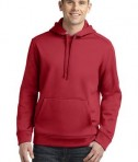 Sport-Tek ST290 Repel Hooded Pullover Deep Red