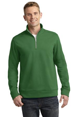 Sport-Tek ST291 Repel 1/4-Zip Pullover Stadium Green