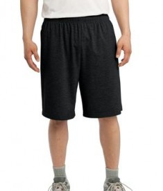 Sport-Tek ST310 Jersey Knit Short with Pockets Black