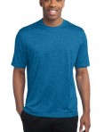Sport-Tek ST360 Heather Contender Tee Blue Wake Heather